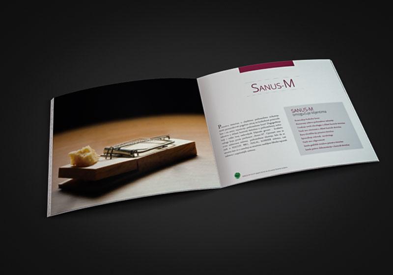 """""""Sanus-M"""" edukuje svoje klijente uz pomoć DDD brošura"""