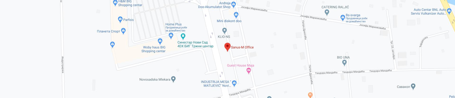Sanus-Map